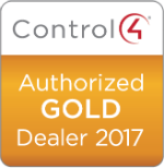 Control4 Badge for Gold Dealers
